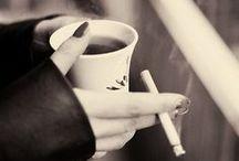 coffee. tea. cigarretes.