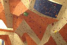 rock climing building