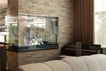 Aquarium Wall / Interior Decorating