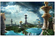 szachy fantasy art