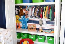 Boys closets