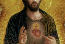 A Catholic Art Gallery / A display of beautiful religious art, old and new.