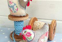 Sewing - Pin cushions