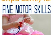 Toddler fine motor skills