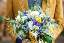 Country and Rustic Wedding Bouquets