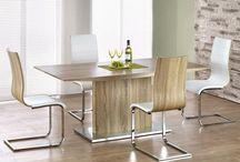 Meble do jadalni / W ofercie naszego sklepu meblowego posiadamy wiele modeli mebli będących wyposażeniem jadalni. Nasze stoły i krzesła wyróżnia estetyka wykonania, a ich styl pozwala na umeblowanie pomieszczeń zarówno nowoczesnych jak i klasycznych. Gorąco polecamy odwiedzić nasz sklep pod adresem www.meblowy.guru