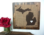 Michigan - Etsy Treasury List by Elizabeth / by Bernadette Fox