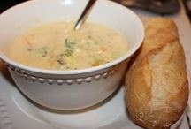 Winter soup dishes