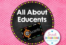 All About Educents / Share free and paid products found on Educents. If you are interested in joining, please email me at sandy.cangelosi@gmail.com / by Sweet Integrations