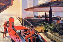 Syd Mead / Awesome work from the highly acclaimed visual futurist / by Form Trends