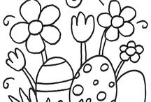 szinező tavasz