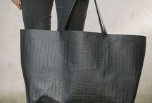 BAG / leather black