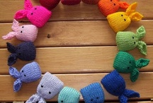 Knitted Toys etc