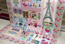French inspired quilts