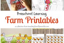 Farm Activities | Pre-K Preschool / by Karen Cox @ PreKinders
