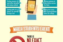Education and Teaching Infographics / Infographics related to teaching, education, and students.
