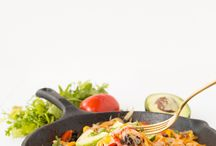 Spiralized Bell Pepper Recipes / by Inspiralized