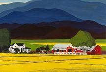 Farmland / Beautiful paintings of Washington's Skagit Valley, San Juan Islands and Whatcom County.