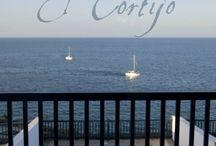 Residencial Cortijo Mar - Villa Sunshine Puerto Calero - Lanzarote - Spain / These attractive, three story, three bedroom villas are located in the exclusive marina of Puerto Calero in a frontline position with fabulous views to the sea.