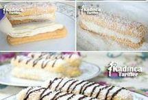 pastalar ve kurabiyeler