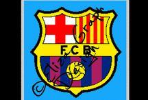 Football Clubs Cross Stitch, Crochet