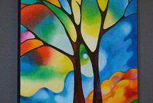 Bomen tekenen