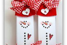 Vánoční a zimní  tvoření s dětmi