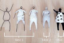muñecos de alambre