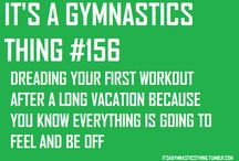 it's a gymnastic thing