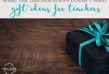 Teacher Ideas and Teacher Gifts