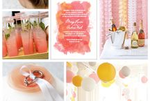 Wedding: Peachy, Coral and pastel hues / by Sharon's Bridal