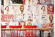 restaurant collage posters