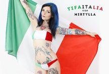 TIFA ITALIA CON MIRTYLLA
