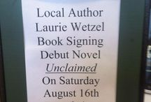 Unclaimed book Signing at Barnes and Noble / Book signing 8/16 at Barnes and Noble for Unclaimed