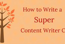 Content Writing / Sharing fun tips and infographics on content writing