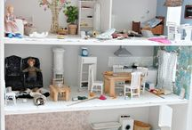 Collection~Doll House/Miniature furniture / FUn~ / by Amanda Hutton-Hakkarainen