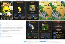 iphone app_Jambo Jump / iphone application  / by Yelim Yoo