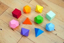 Polygons / Platonic solids and other faceted and polygon shapes