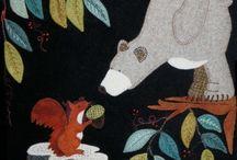 woolen patchwork
