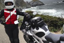 How to Stay Visible on Your Motorcycle / Some ideas to keep things bright and reflective, especially for night riding.