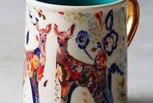 Mugs, cups, plates