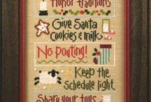 Kerst borduurwerkjes
