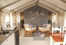 vakantie / tent