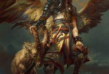 архаика, боги