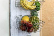 5. thuis - keuken, groente en fruit bewaren