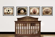 Sports Themed Boys Room  / by Melanie Alin Sherrod