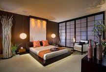Chambre zen / asiatique