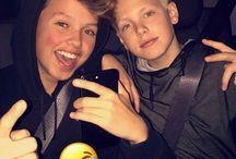 Jacob and Carson