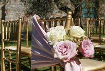 FLORALIADECOR: Gold and Pink for a romantic theme / #Floraliadecor #CastelloDiModanella2014