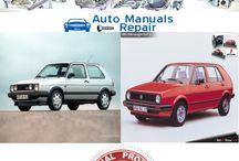 VW Volskvagen Services Repair Manuals